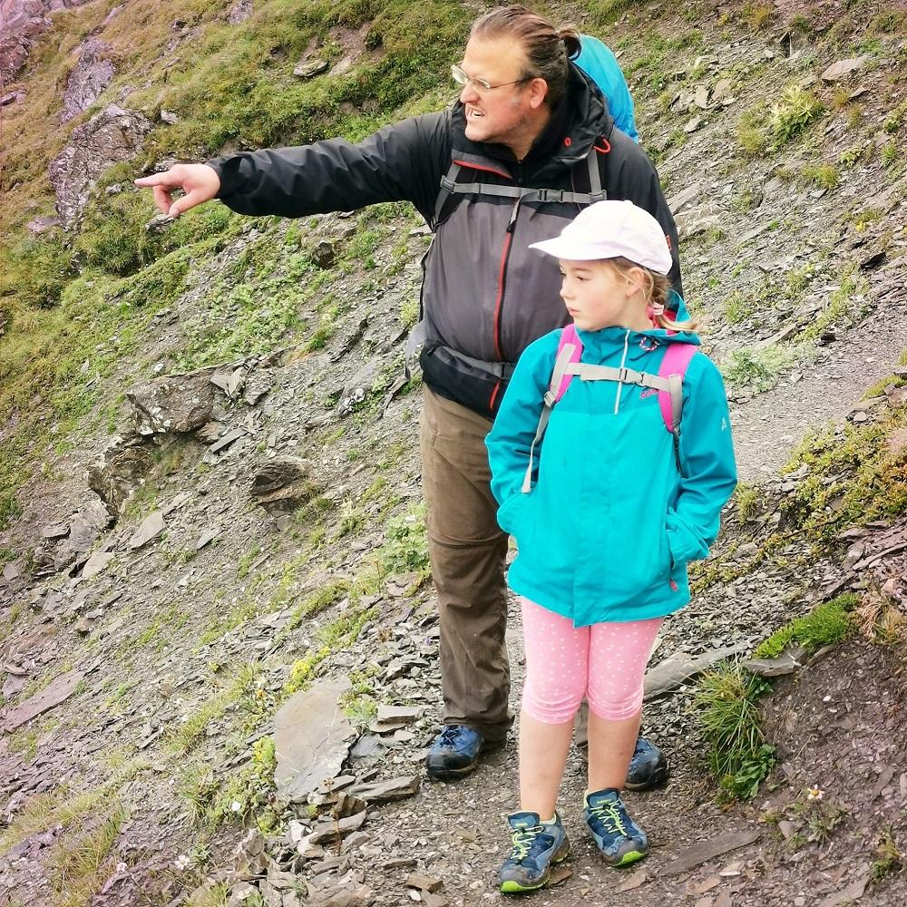 Gregor Edel unterwegs mit seinem Kind - Elterncoaching